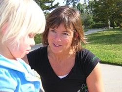 SOFTWARE ARTIST :  Bonnie McKee Hoadley, shown here with her daughter, Helen, created many of the computer systems still used by local cities. - PHOTO COURTESY OF SUSAN MCKEE