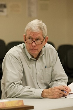 TWO HATS :  John Wallace is the district administrator for a local sewer district, while his company carries out many of the district's engineering services. To some observers, the situation is ripe for a conflict of interest. - PHOTOS BY STEVE E. MILLER