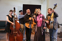 LEAVING ON A JET PLANE! :  A tribute to the music of Peter, Paul, and Mary happens May 20 at Steynberg Gallery. - PHOTO COURTESY OF STANLEY STERN