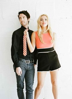 THE NEW NEW WAVE:  Laura Leighe—a pop duo out of Oklahoma City—plays two shows this week, first at the Frog and Peach on Nov. 20 and then at the Paso Brewing Co. on Nov. 22. - PHOTO COURTESY OF LAURE LEIGHE