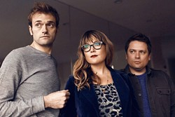 TRIO OF TALENT:  Nickel Creek, which includes Thile and siblings Sara and Sean Watkins, has been together since the bandmates were wee tweens in 1989. They released their seventh and latest album, A Dotted Line, in 2014. - PHOTO COURTESY OF CHRIS THILE
