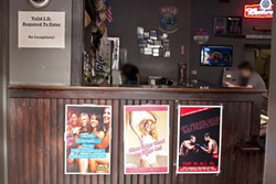 CHANGE ON TAP :  Under pressure from city officials and residents around the downtown area, local bars and restaurants have stepped up efforts to prevent patrons from getting rowdy, including a poster campaign like the one pictured. - PHOTO BY STEVE E. MILLER