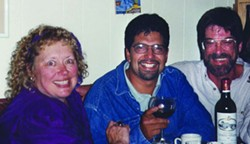 FOUNDING FIGURES:  From left) Bev Johnson, Alex Zuniga, and Steve Moss began New Times in 1986. - PHOTO COURTESEY OF NEW TIMES
