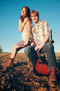 GET NAKED! :  Baltimore couple Jen and Scott Smith—aka Naked Blue—are bringing their folk pop sounds to the SLO Down Pub on May 16 and Sculpterra Winery on May 19. - PHOTO COURTESY OF NAKED BLUE
