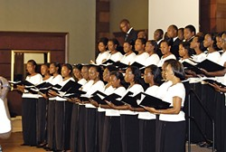 UGANDA BE KIDDING ME! :  The Christ the King Church Choir has been singing at Sunday mass in their native Kampala, Uganda, for 75 years.