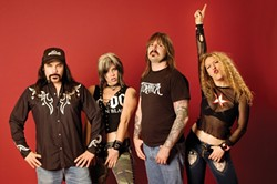 STRAIGHT OUTTA NASHVILLE :  Rowdy rockers Nashville Pussy hit SLO Brew on Feb. 7. - PHOTO COURTESY OF NASHVILLE PUSSY
