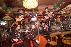 AY-YI-YI!:  The theatrical and amazing Diego's Umbrella returns to Frog and Peach on Feb. 3 to play an evening of experimental flamenco-Mexi-Cali-gypsy-pirate-polka rock music. - PHOTO COURTESY OF DIEGO'S UMBRELLA