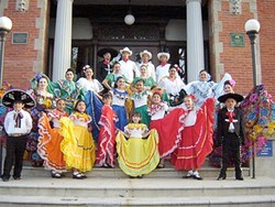 JOYFUL DANCE :  Folklorico Herencia Mexicana ensemble and a full night of great live music will help this year's Vision Unidas gala live up to its tradition as one of the most popular events of the year. - PHOTO COURTESY VISION UNIDA