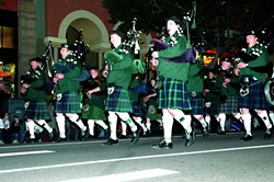 GET IN THE SPIRIT!:  The Downtown Association's 36th annual Holiday Parade happens on Friday, Dec. 7, at 7 p.m., kicking off at the corner of Palm and Chorro Streets and winding around the downtown along Chorro, Monterey, Osos, and Higuera streets. This year they've received entries for nearly 100 floats, marching bands, animal groups, and classic carolers. The public is invited to come early and set up chairs or blankets for prime viewing. There will also be 10 emcee stages set up along the parade route, approximately one for every block. Get in on the holiday fun!