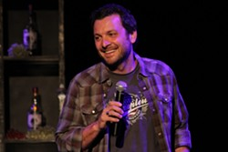 THE BEER'S ON HIM :  Comic and musician Zane Lamphrey brings his drinking-themed music comedy show to SLO Brew on Nov. 18. - PHOTO COURTESY OF ZANE LAMPHREY