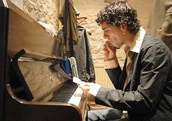 FIERY SPANISH PIANO :  Sergio Monroy and his quintet will play an evening of flamenco-meets-jazz on March 6 at the Monday Club. - PHOTO COURTESY OFSERGIO MONROY
