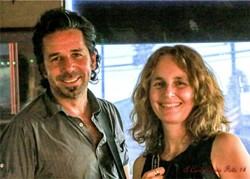 IF MUSIC BE THE FOOD OF LOVE, PLAY ON:  Alternative soul, flamenco, funky blues, and rock 'n' roll make up Luis Oliart and Debra Windsong's unique sound. The duo will perform at Shell Café on Dec. 11, in Pismo Beach. - PHOTO COURTESY OF SONGWRITERS AT PLAY