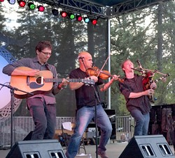 LIVE WIRES! :  Come to the annual Burns Night Supper with Molly's Revenge on Jan. 21 in the Pavilion on the Lake. - PHOTO COURTESY OF MOLLY'S REVENGE