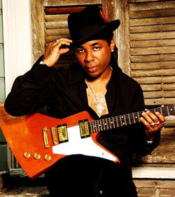 IT'S GOOD TO BE KING:  Musician, actor, and blues innovator Chris Thomas King plays the SLO Blues Society concert on Sept. 27 at the SLO Vets Hall. - PHOTO COURTESY OF CHRIS THOMAS KING