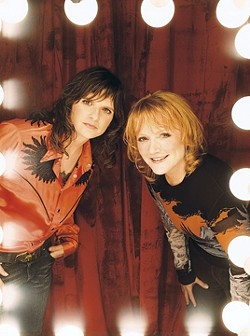 PRETTY AS A PICTURE :  On July 11, amazing folk duo The Indigo Girls play the Performing Arts Center as part of SLO Pride 2009. - PHOTO COURTESY OF THE INDIGO GIRLS