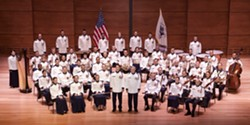 AMERICA, EFF YEAH!:   The U.S. Coast Guard Band performs a free concert of American music Saturday, July 16, in the PAC. - PHOTO COURTESY OF THE US COAST GUARD BAND