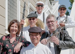 JUBILEE!:  The Mud Skippers play an Oktoberfest concert on Oct. 23 at the Addie Street Tent in Pismo to kick off the annual Jubilee by the Sea hot jazz festival Oct. 24 to 26. - PHOTO COURTESY OF THE MUD SKIPPERS