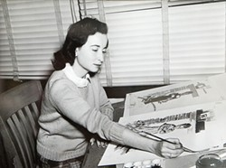 TIME GONE BY :  This photo of Editha Spencer is circa 1945. - PHOTO COURTESY OF HAROLD SPENCER