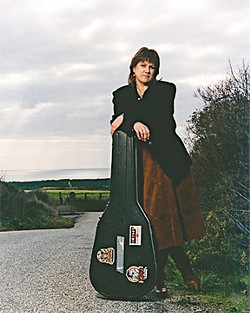 FOLK QUEEN :  Western and folk music legend Mary McCaslin returns to the Central Coast with an April 3 concert at Coalesce Bookstore. - PHOTO COURTESY OF MARY MCCASLIN