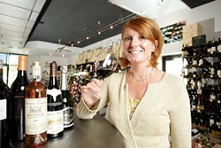 SHE KNOWS :  Ali Rush Carscaden has earned official certification as a sommelier. - PHOTO BY STEVE MILLER