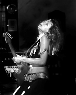 GUITAR GODDESS :  Blues slide guitarist and vocalist Ana Popovic headlines the SLO Blues Society show on Sept. 24 in the SLO Vets Hall. - PHOTO COURTESY OF ANA POPOVIC