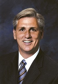 CLEANING HIS EARS :  Rep. Kevin McCarthy protested the 'broken' earmark system by not asking for any this year, even if it meant not funding some of his constituents. - COURTESY PHOTO
