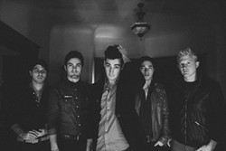 """PK WHO? :  Night Riots (formerly PK) plays SLO Brew on March 30 to celebrate its new single """"Spiders,"""" an MTV """"Buzzworthy"""" track. - PHOTO COURTESY OF NIGHT RIOTS"""