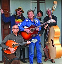 PICKERS :  The Vigilante String Alliance plays Don Lampson's Mid Winter Musicale in the Steynberg Gallery on Jan. 31. - PHOTO COURTESY OF VIGILANTE STRING ALLIANCE