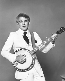 OLD STEVE:  This is Steve Martin at the height of his stand-up career. - PHOTO COURTESY OF STEVE MARTIN