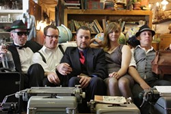 GET TIPSY! :  The Tipsy Gypsies will release their highly anticipated new CD Little Victories on July 19 at The Z Club. - PHOTO COURTESY OF THE TIPSY GYPSIES