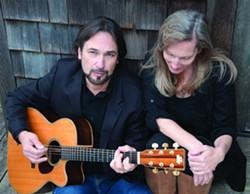 WINSOME TWO :  Tim Pecheco and Cindy Myers have teamed up to form Ragged Company, which you can check out live on air on May 4 when they appear on Sonnie Brown's Song Town on KCBX 90.1 FM, and on May 5 at Art in the Park at Dinosaur Caves Park. - PHOTO COURTESY OF RAGGED COMPANY