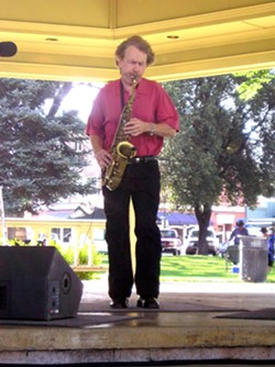 SAVAGE MUSIC:  Smooth jazz artist Bryan Savage will bring his saxy sounds to the City Park in downtown Paso Robles on June 20. - PHOTO COURTESY OF THE CITY OF PASO ROBLES