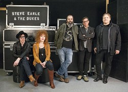ICONOCLAST:  Steve Earle and The Dukes headlines the closing night of the three-day Live Oak Music Festival, June 19-21. - PHOTO COURTESY OF WME ENTERTAINMENT