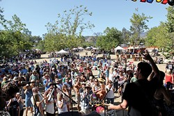 MUSIC, BEER, WILDERNESS:  Scene makers and hip shakers passionate about food, craft beer, and music will converge on El Chorro Regional Park for the third annual Seven Sisters Craft Beer and Music Festival this July 10 to 12. - PHOTO COURTESY OF TYLER MASON/HARVESTMOON INC.