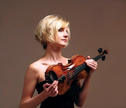 POLISH CONNECTION :  Over the past eight years, Polish-born, Boston-based volinist Joanna Kurkowicz has championed the music of long-neglected Polish composer and violinist Grazyna Bacewicz. - PHOTO COURTESY OF THE SLO SYMPHONY