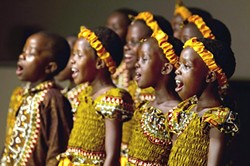 EAR-TO-EAR SMILE:  On Feb. 3, the Hillside Church of Grover Beach will put a smile on your face with a free concert by The African Children's Choir. - PHOTO COURTESY OF THE AFRICAN CHILDREN'S CHOIR