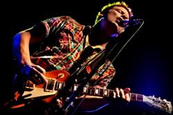 GUITAR SHREDDER :  Blues guitar virtuoso Jonny Lang headlines the 17th Annual Avila Blues Festival, on May 30. - PHOTO BY WAYNE CRANS DEAD BIRD PHOTOGRAPHY