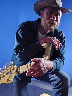 LUCKY 14 :  Blues guitar slinger Guy Budd is one of several performers playing the 14th Annual Sharing the Dream Concert & Cultural Art Festival on Jan. 17 at Laguna Middle School. - PHOTO COURTESY OF GUY BUDD