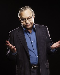 COMEDIAN LEWIS BLACK: - PHOTO COURTESY OF THE PAC