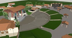 SLO COUNTY BOWL? :  The Paso Robles Planning Commission and City Council recently approved a 3,300-seat outdoor amphitheater at Vina Robles Hospitality Center, which is scheduled to open in May 2013. - IMAGE COURTESY OF VINA ROBLES HOSPITALITY CENTER