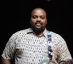 CHIP OFF THE OLD BLOCK:  Shawn Holt, son of Magic Slim, fronts his deceased father's band the Teardrops on Feb. 27 at the SLO Vets Hall. - PHOTO COURTESY OF SHAWN HOLT