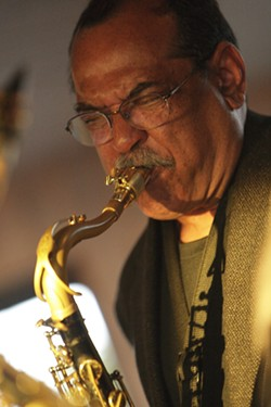 ERNIE WATTS: - PHOTO BY STEVE E. MILLER