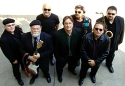 CRACKLING GOOD:  Hear big band blues with the Delta Wires at the SLO Vets Hall on Dec. 6. - PHOTO COURTESY OF DELTA WIRES
