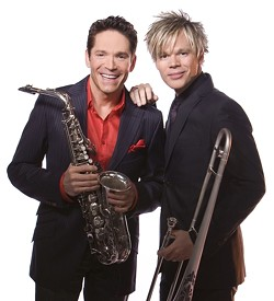 SMOOTH OPERATORS :  Smooth jazz starts Dave Koz and Brian Culbertson bring their honey-sweet sounds to the Mid-State Fair's Grandstand stage on July 31. - PHOTO COURTESY OF DAVE KOZ AND BRIAN CULBERTSON
