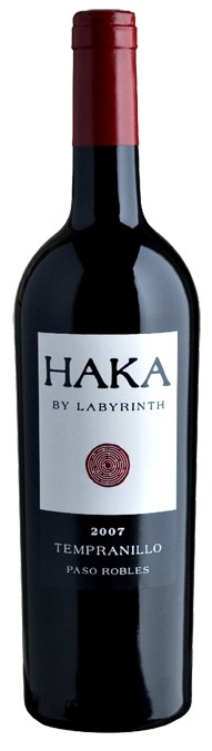 HAKA BY LABYRINTH 2011 TEMPRANILLO PASO ROBLES:
