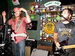 """HANK WILLIAMS DIED IN A CADILLAC:  American Dirt """"is gonna die in a Ford."""" See what else these poetic alt country rockers sing about at this year's Twang N Bang fest this Sept. 6 at Frog and Peach Pub. - PHOTO COURTESY OF DAN KELLER"""