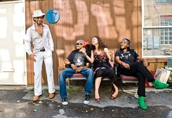 BIG PIMPIN'! :  On June 30, coming straight outta Brooklyn, the funklicious Pimps of Joytime hits Downtown Brew. - PHOTO COURTESY OF THE PIMPS OF JOYTIME