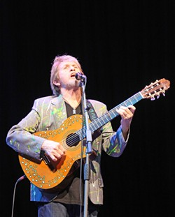 YES MAN! :  Jon Anderson, front man for the iconic progressive rock act Yes, will present an intimate solo acoustic concert on June 30 at Castoro Cellars. - PHOTO COURTESY OF JON ANDERSON