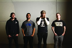 PUNK NUGGETS!:  Local pop punk act The Mighty Fine (pictured) will release their new album Brothers & Smugglers when they open for The Ataris on March 3 at SLO Brew. - PHOTO COURTESY OF THE MIGHTY FINE