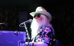 WHO HASN'T HE PLAYED WITH? :  Rock icon Leon Russell, whose list of collaborators reads like a who's who of pop and rock music, returns to Downtown Brew on July 16. - PHOTO COURTESY OF LEON RUSSELL